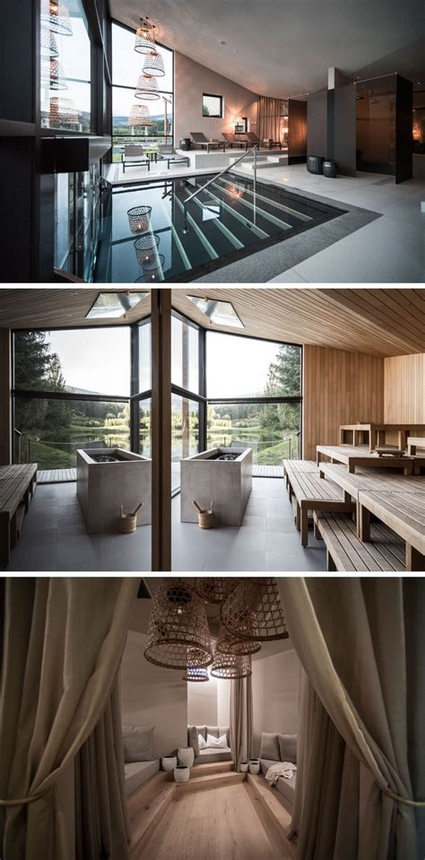 noa give hotel seehof a relaxing contemporary update contemporist