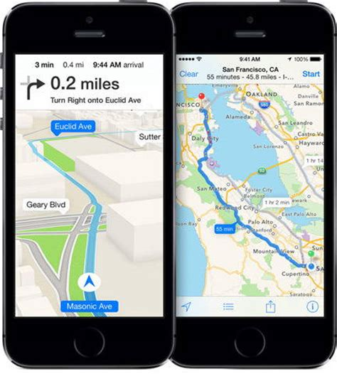 maps app for iphone apple maps transit directions expected to arrive with ios 9