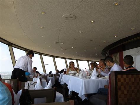 skylon tower revolving dining room new clam chowder picture of skylon tower