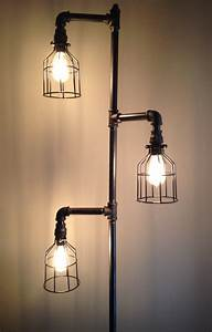 Inexpensive diy floor lamp ideas to make at home for Homemade floor lamp ideas