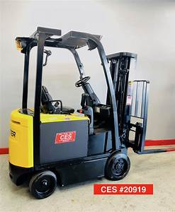 Ces  20919 Hyster E40xn Electric Forklift
