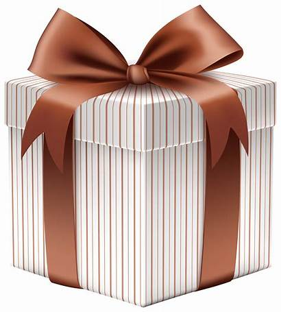 Gift Bow Clipart Brown Gifts Transparent Boxes