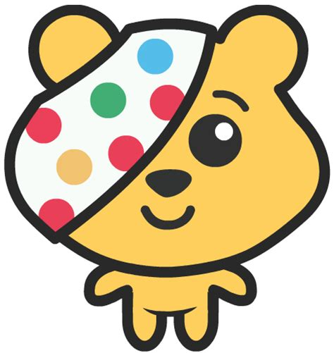 Pudsey Bear  New Style For 20162017