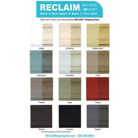 furniture paint colors home depot reclaim beyond paint 1 pt antiquing glaze rc38 the home depot family room diy