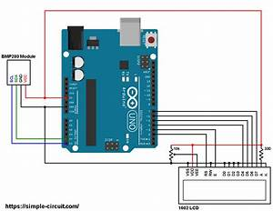 Interfacing Arduino With Bmp280 Pressure And Temperature