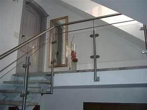 Treppengeländer Mit Glas : glasf llung hermann g tz metallbau edelstahldesign ~ Markanthonyermac.com Haus und Dekorationen