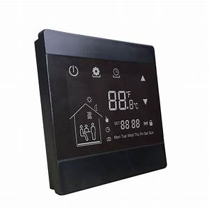 Programmable Underfloor Heating Thermostat With Wall