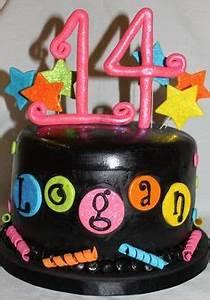 1000 ideas about Neon Birthday Cakes on Pinterest