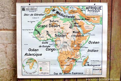 appliques murales pour cuisine carte scolaire vidal lablache n 16 l 39 afrique physique