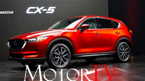 Suv All New 2017 Mazda Cx5 L Japan Reveal (eng Sub