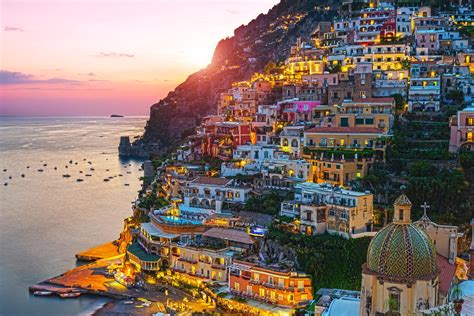 Positano Italy People Dont Have To Be Anything Else