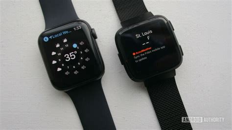 fitbit versa vs apple series 4 which smartwatch is right for you the nokia