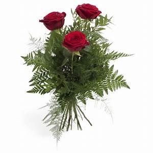1 Rote Rose Bedeutung : 3 rote rosen irinas blumenparadis mainz blumenstr u e pflanzen und blumen ~ Whattoseeinmadrid.com Haus und Dekorationen