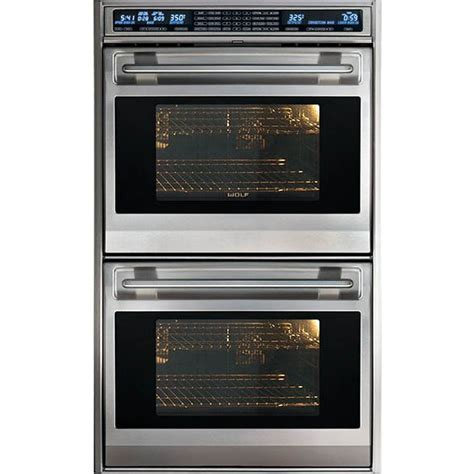 """Wolf DO30F/S L Series 30"""" Electric Double Wall Oven"""
