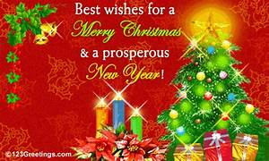 A, Merry, Christmas, And, A, Prosperous, New, Year, Free