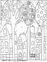 Coloring Whimsical Patterns Karla Gerard Pattern sketch template