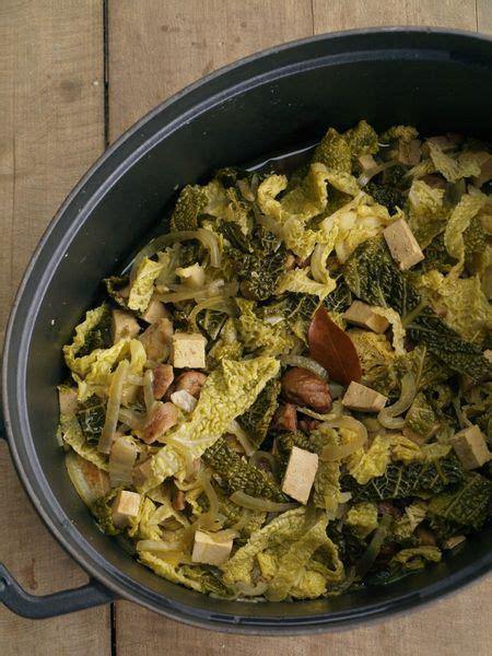 pot 233 e de chou vert 224 la ch 226 taigne et au tofu sainbiosis