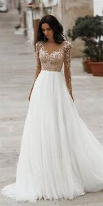 30 Best Lace Wedding Dresses With Sleeves | Wedding ...