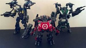 Custom Transformers DOTM Wreckers by i---D---i on DeviantArt