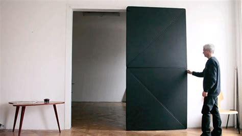 austrian artist reinvents door  innovative  folding