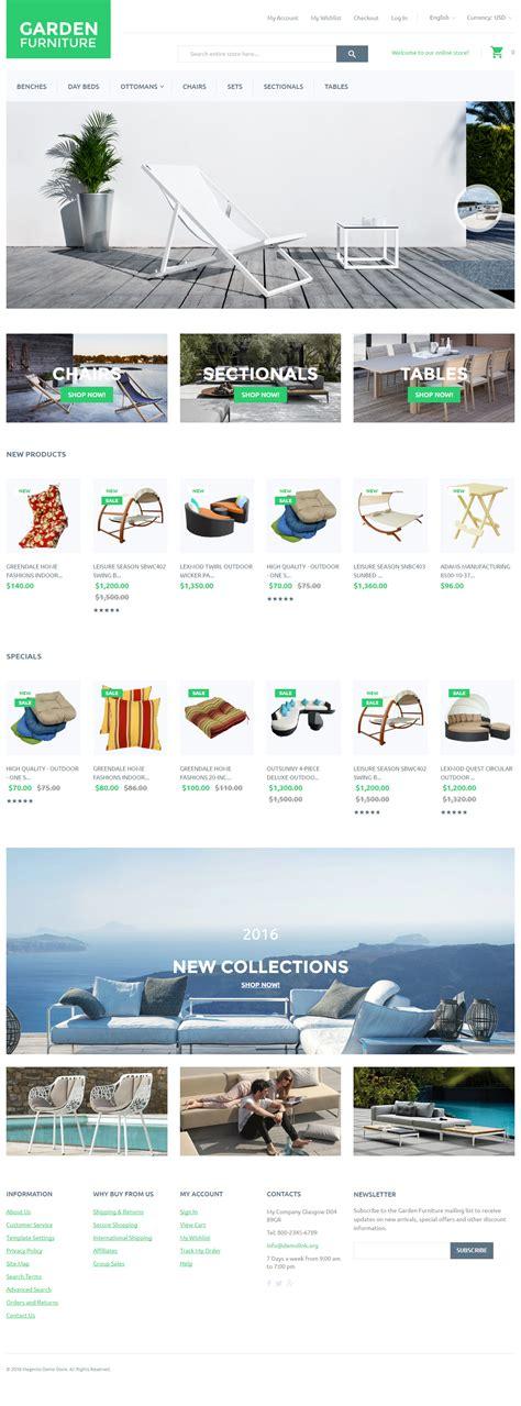 garden premium responisve furniture magento theme