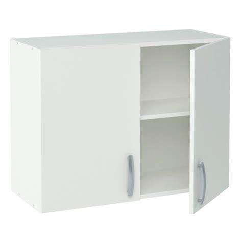 meuble cuisine blanc meuble de cuisine blanc haut 2 portes dya shopping fr