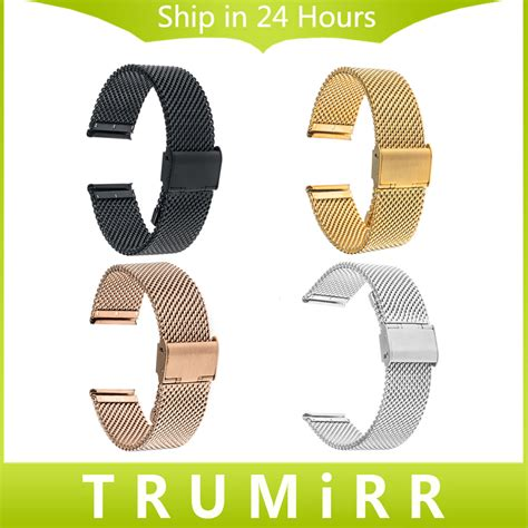 luxury milanese stainless steel watchband for apple wat diskon 1 ebay metal band for sony smartwatch 3 stainless