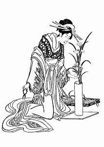 Maison Japonaise Dessin : japan herborist japan adult coloring pages ~ Melissatoandfro.com Idées de Décoration