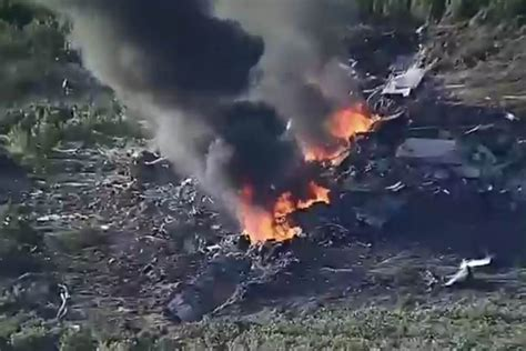 Military Plane Crashes With 16 On Board In Mississippi