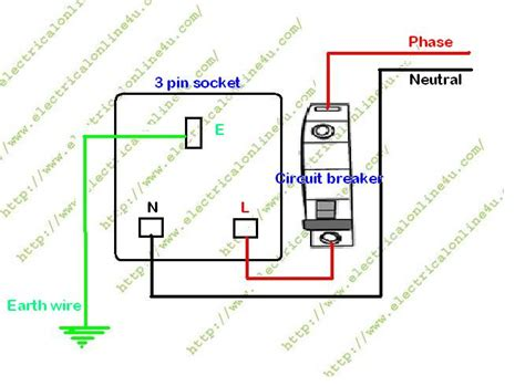 how to wire a switched 3 pin socket electrical 4u