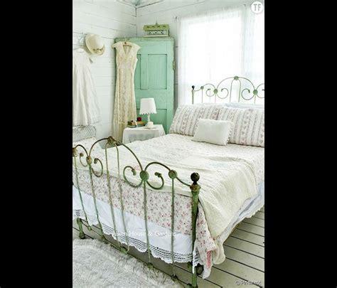 deco chambre anglaise décoration shabby une chambre à coucher cagnarde