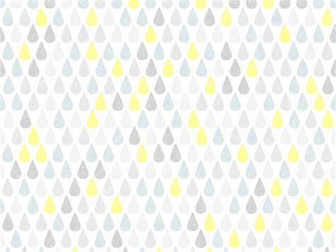 chambre de fille papier peint vinyle grainé papier effet goutte d 39 eau jaune