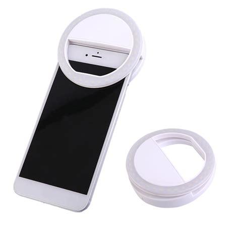 blinking light when phone rings newest universal mobile phone selfie light clip on design