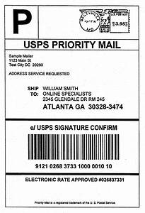 usps shipping label template journalingsagecom With ebay shipping label template