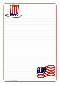Free Printable American Flag Writing Paper Buy A Speech And Outline