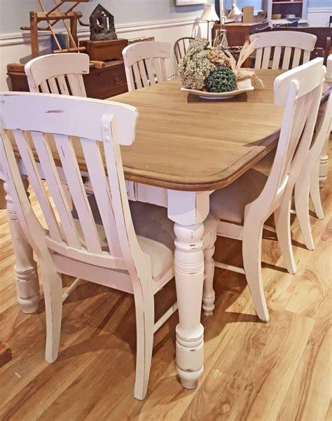 tables de cuisine conforama table crème blanc cassé dessus bois shabby rustique chic