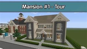 Minecraft Mansion 1 Tour 6000 Blocks City Texture
