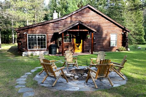 cabins for in michigan cabin for rent on au river michigan