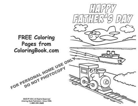 coloring pages   coloring pages fathers day card