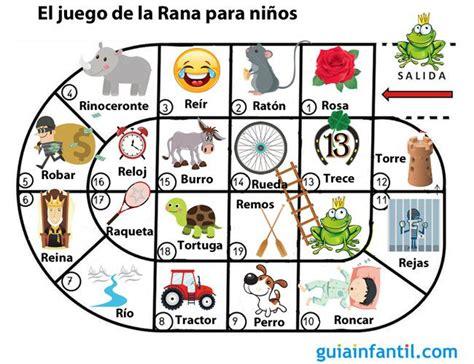 Cada niño o niña tiene una ficha con números para colorear. El juego de la rana para niños con problemas con la letra R | Juego de la rana, Juegos de ...