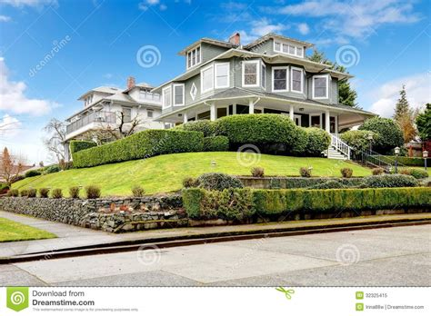 home exterior design upload large luxury green craftsman house