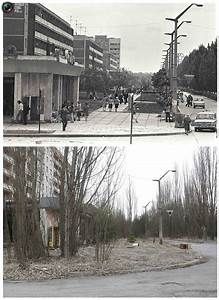 Chernobyl Before and After Pictures - Earthly Mission