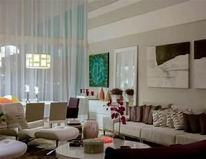 sala de estar (luminária diamond branco) art maison
