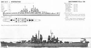 Uss Baltimore Class Heavy Cruiser