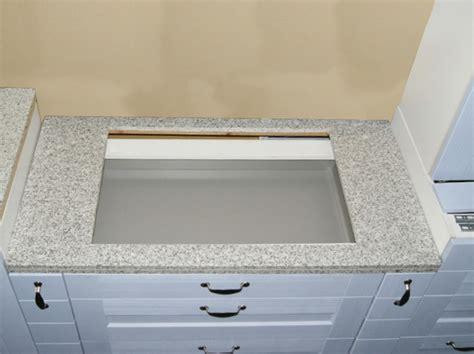 Küchen Mit Granitplatten by Granit K 252 Chen Arbeitsplatte 120 Cm Granit Wei 223