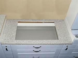 Granit Arbeitsplatte Küche Preis : granit k chen arbeitsplatte 120 cm granit wei ~ Michelbontemps.com Haus und Dekorationen