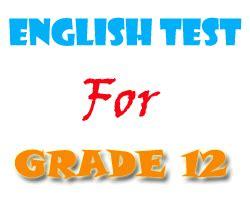 english tests  exercises  grade
