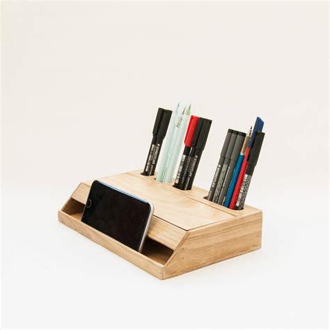 desk organizers wood handmade desk organizer office modern desk organizer