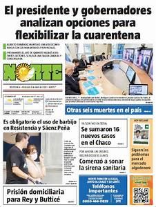 Peri U00f3dico Diario Norte  Argentina   Peri U00f3dicos De Argentina  Edici U00f3n De Mi U00e9rcoles  8 De Abril De