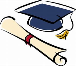Picture Of Graduation Cap And Diploma - Cliparts.co
